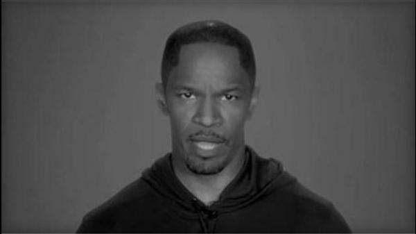 Jamie Foxx appears in the Demand a Plan PSA to plead for better gun control.
