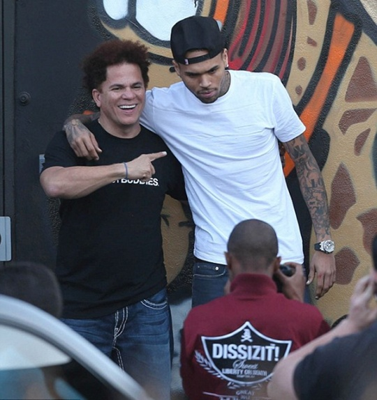 chris brown romero