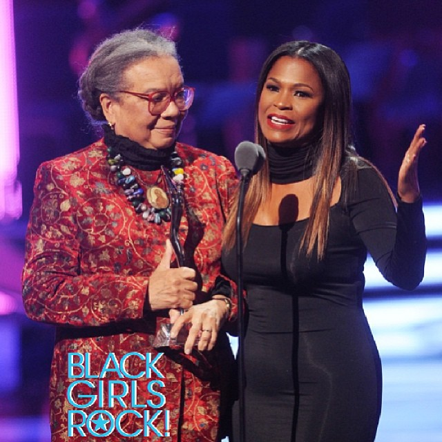 Marian Wright Edelman Founder of the Children's Defense Fund and Head Start & Nia Long