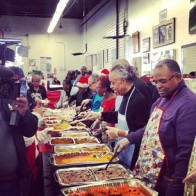 Al Sharpton also distributed food Harlem at his National Action Network on Christmas Day. Image Credit: Al Sharpton IG