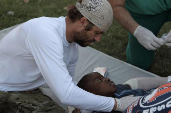 Paul Walker in Haiti in 2010. Photo credit: Paul Walker Facebook page