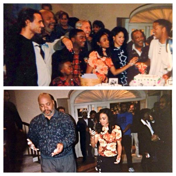 Fresh Prince cast shooting final episode. Photo Credit: Tatyanna Ali Facebook page