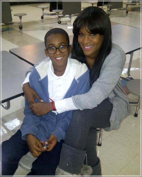 Tameka Raymond with son Kile.  Photo Credit: Kile's World Foundation