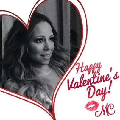 Valentine's Day is made sweeter with a Mariah serenade. Photo Credit: Facebook
