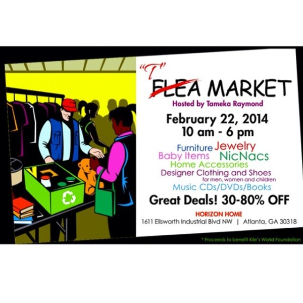 T-market flier. 80% discount on furniture...girl, bye Photo Credit: Tameka Raymond IG