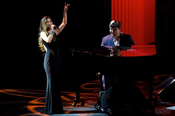 "Jessica Sanchez letting those high notes flow singing ""Let it Go"" Image Courtesy: UNTV"