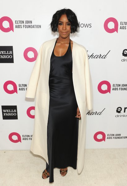Kelly Rowland Arriving at Elton John AIDS foundation Oscar night. Image Courtesy of: ejaf.org