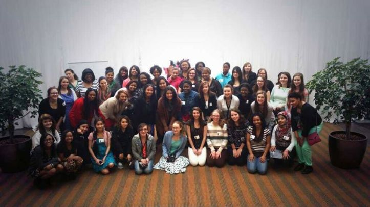 Savannah James caters to  50 girls dress needs with Prom Promise Event in Akron, OH.  Image Courtesy: Facebook