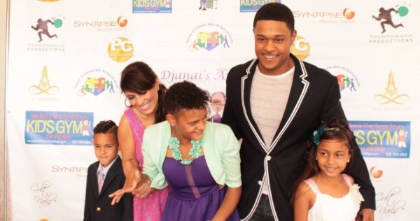 Pooch Hall walking the red carpet at his hosted event. Image Courtesy: KRNB.com