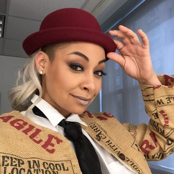 I tip my hat to Raven-Symone's unique take on her roots. Image Courtesy: Instagram