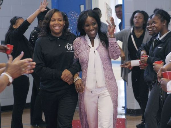 Move out the way, Make room for the teacher of the decade, or IfYouBlinked's wcw  Image Courtesy: The Detroit News