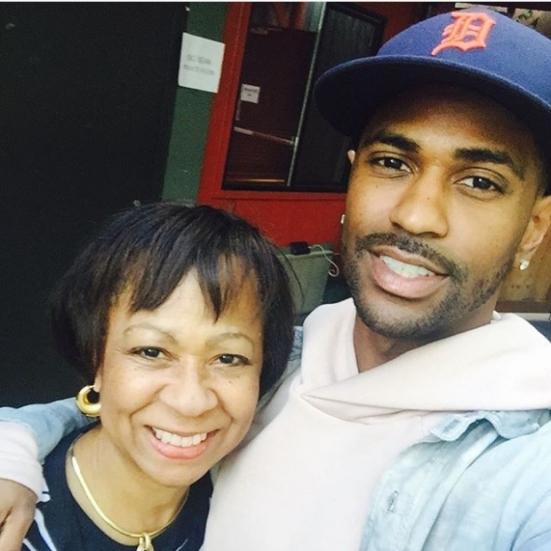 sean and mama